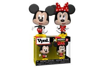 Mickey Mouse Mickey & Minnie Vynl.