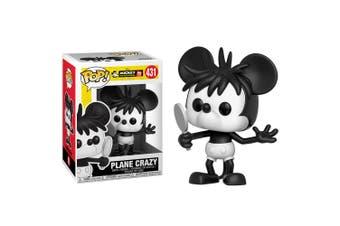 Mickey Mouse 90th Anniversary Plane Crazy Mickey Pop! Vinyl