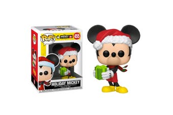 Mickey Mouse 90th Anniversary Holiday Mickey Pop! Vinyl