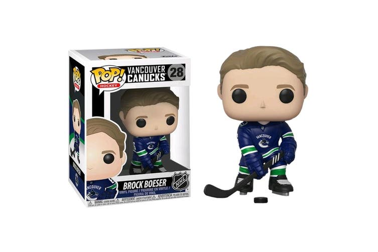 NHL Canucks Brock Boeser Pop! Vinyl