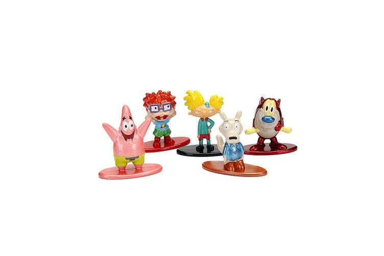 Nickelodeon Nano Metalfigs 5 Pk A