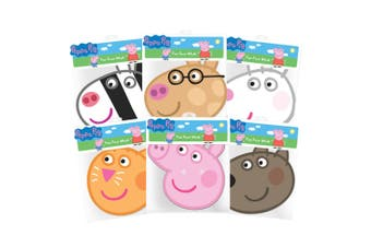Peppa Pig & Friends Masks 6 Pk