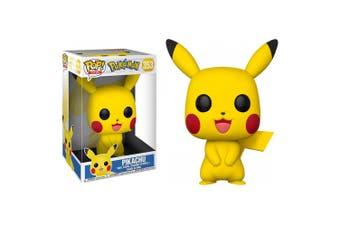 "Pokemon Pikachu US Exclusive 10"" Pop! Vinyl"