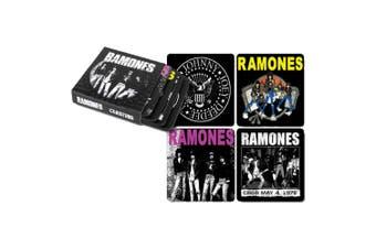 Ramones Coasters Set Of 4 In Sleeve