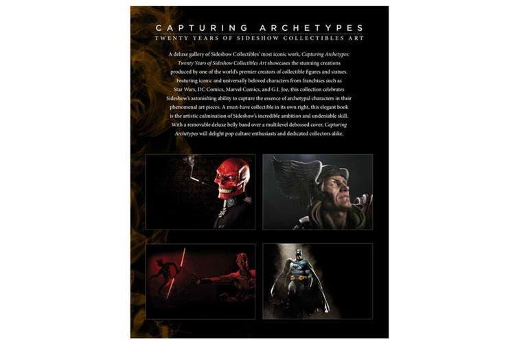 Sideshow Capturing Archetypes Hardcover Art Book