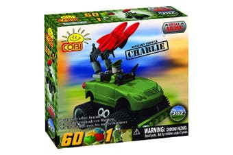 Small Army 60 Piece Charlie Military Veh Construction Set