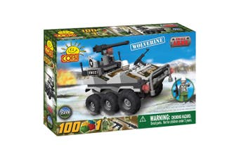 Small Army 100 Piece Wolverine Military Veh Construction Set