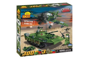 Small Army 300pc Special Forces Military Units Construct St