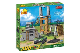 Small Army 300 Piece Training Camp Construction Set