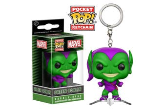 Spider-Man Green Goblin on Glider US Pocket Pop! Keychain