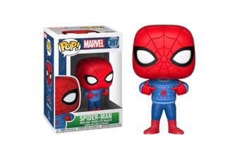 Spider-Man with Ugly Sweater Pop! Vinyl
