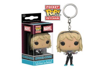 Spider-Man Spider-Gwen Unhooded US Pocket Pop! Keychain