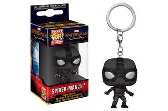 Spider-Man Far From Home Stealth Suit Pocket Pop! Keychain