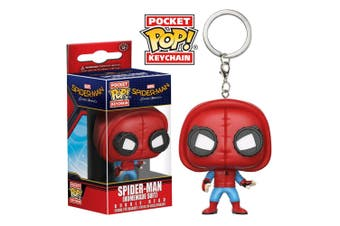 Spider-Man Homecoming Homemade Suit Pocket Pop Keychain
