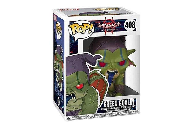 Spider-Man Into the Spider-Verse Green Goblin Pop! Vinyl
