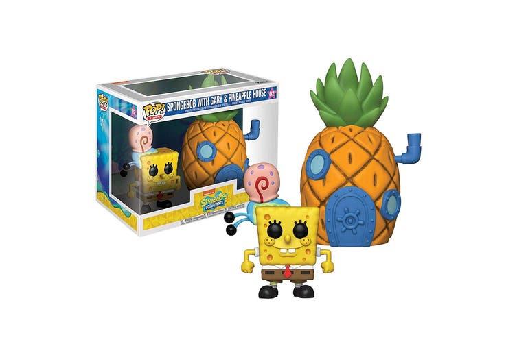 Spongebob with Pineapple Pop! Town
