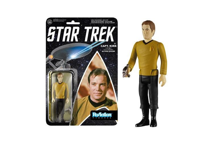 Star Trek Captain Kirk ReAction Figure