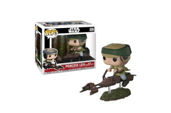 Star Wars Leia on Speeder Bike (with chase) Pop! Deluxe