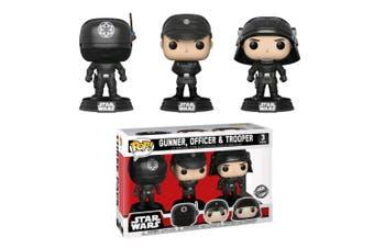 Star Wars Death Star Gunner, Officer & Trooper US Pop! 3 Pk
