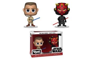 Star Wars Darth Maul & Obi Wan Vynl.