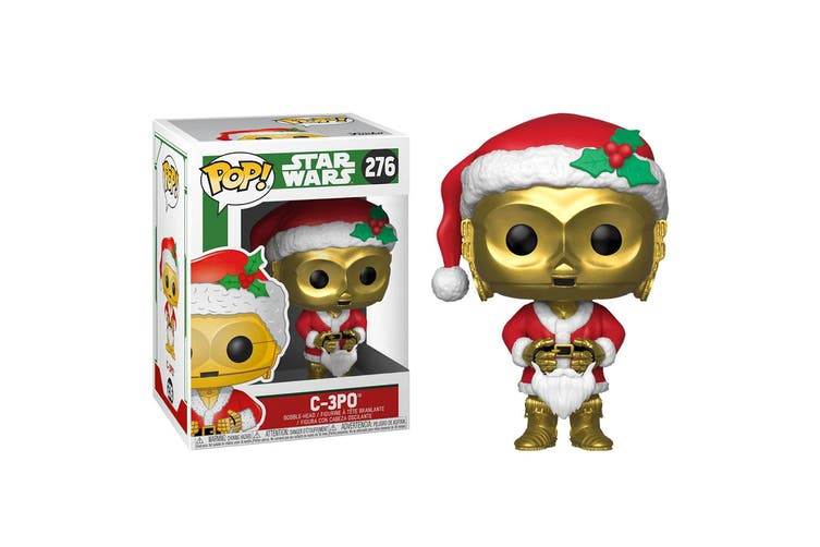 Star Wars C-3PO as Santa Pop! Vinyl
