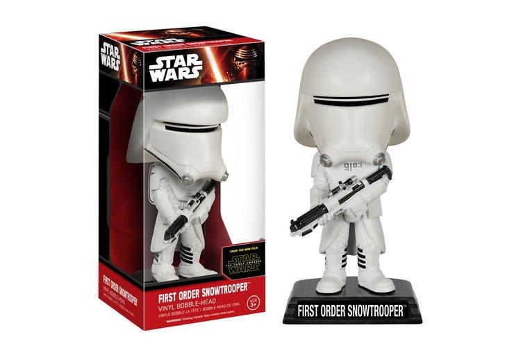 Star Wars 1st Ord Snowtrooper 7 Force Awakens Wacky Wobbler