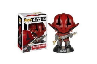 Star Wars Sidon Ithano Episode VII the Force Awakens Pop!