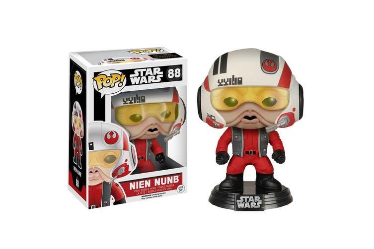Star Wars Nien Nunb w/ Helmet VII Force Awakens US Pop