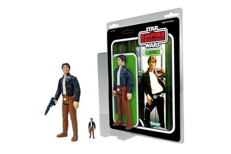 "Star Wars Han Solo Bespin 1:6 Scale 12"" Jumbo Kenner Figure"