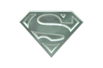 Superman the Animated Series Logo Metal Bottle Opener