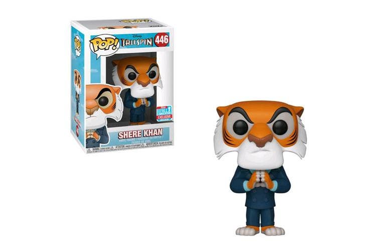 TaleSpin Shere Khan Hands Together NYCC 2018 Pop! Vinyl
