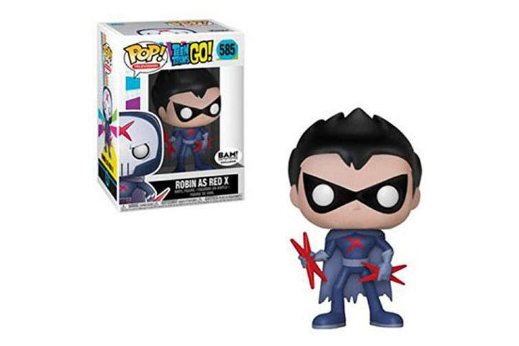 Teen Titans Go! Robin as Red X Unmasked US Pop! Vinyl