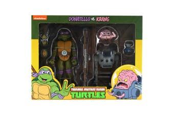 Teenage Mutant Ninja Turtles Donatello vs Krang Figure 2 Pk