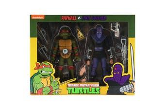 Teenage Mutant Ninja Turtles Raphael v Foot Soldier Fig 2Pk