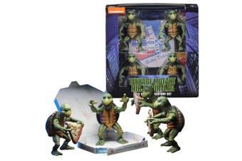 Teenage Mutant Ninja Turtles 1990 Baby Turtles 1:4 Fig Set