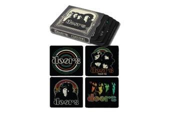 The Doors Coasters Set Of 4 In Sleeve