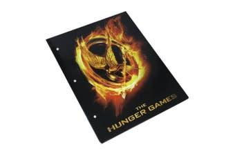 The Hunger Games Folder Burning Mockingjay Poster