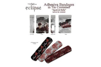 Twilight Eclipse Adhesive Bandages in Tin Jacob & Bella S