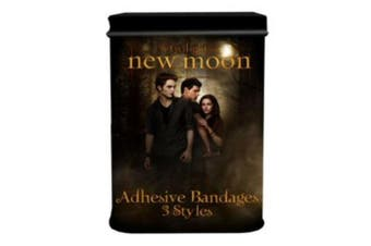 The Twilight Saga New Moon Adhesive Bandages In Tin