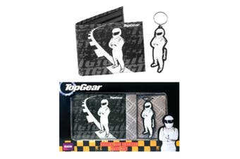 Top Gear Wallet and Keyring Gift Set