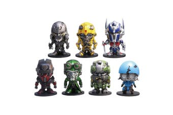 """Transformers The Last Knight Box Set of 7 2"""" Metal Figures A"""