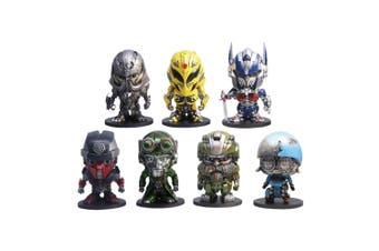 "Transformers The Last Knight Box Set of 7 2"" Metal Figures B"