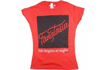 True Blood Fangtasia Red Female T-Shirt