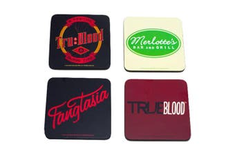 True Blood Coaster Set of 4 (Series 1)