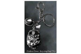 Twilight Keyring / Bag Clip (Cullen Crest)