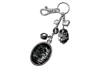 Twilight Keyring / Bag Clip Charm (Bella & Cullen)