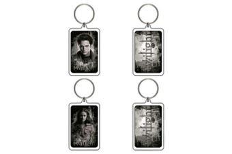 Twilight Lucite Keychain A&B (Edward & Bella BTS)