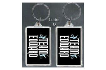 Twilight Lucite Keychain D (Team Edward)