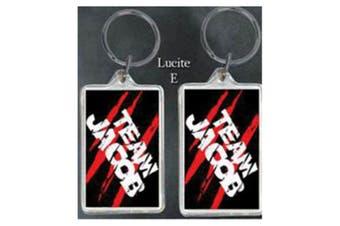 Twilight Lucite Keychain E (Team Jacob)