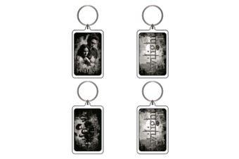 Twilight Lucite Keychain E&F (Ed & Bella Cast BTS)